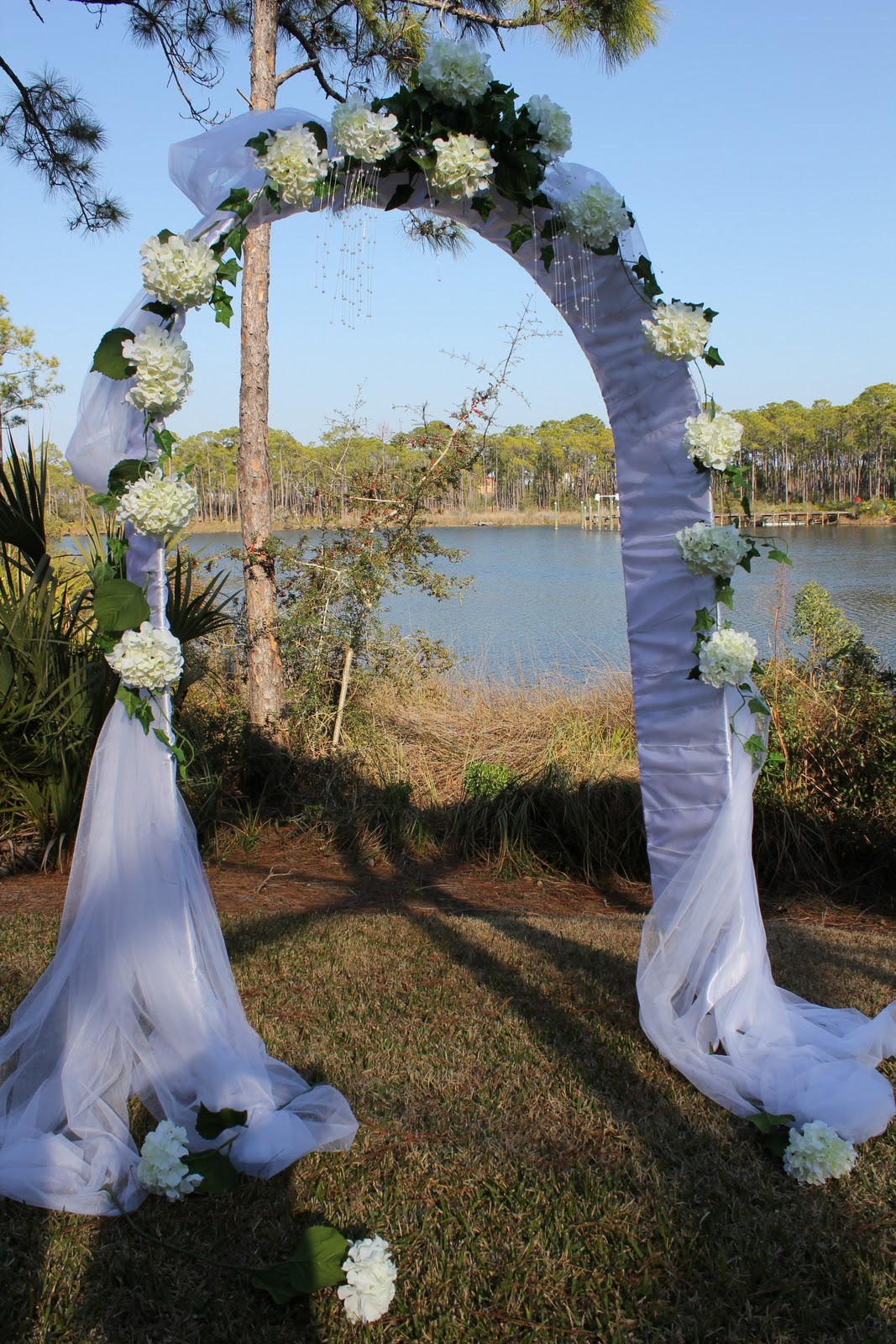 decorated wedding arch unique floral arrangement ideas for events amp homes 3347