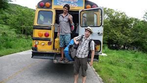 Broken bus on the way back to Estelí, Nicaragua
