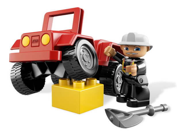 レゴ デュプロ しょうぼうジープ 6169