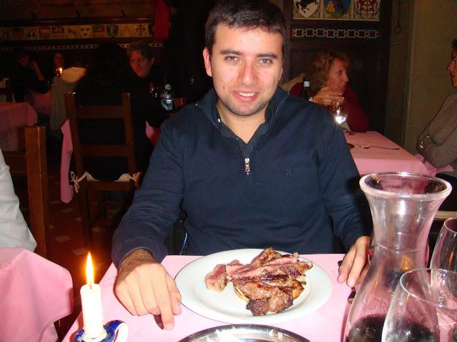 Paulo'da yemek yerken, Floransa