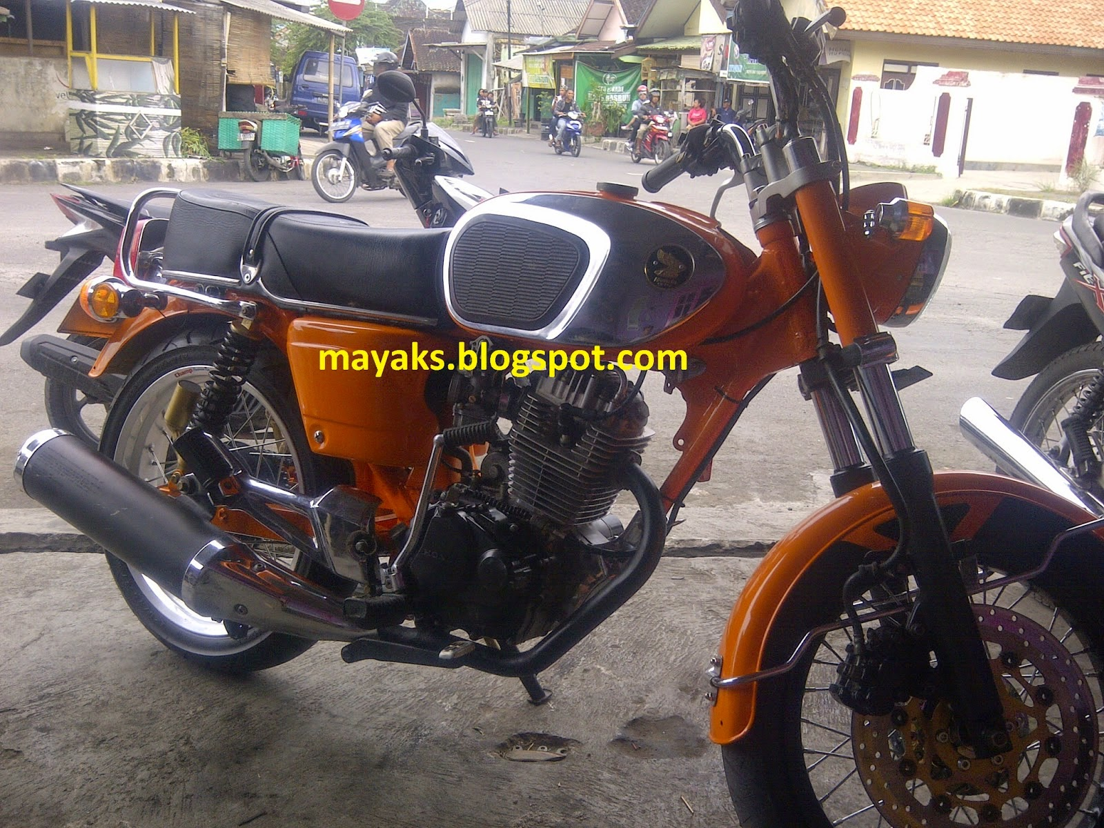 Honda Tiger Modifikasi Cb 200