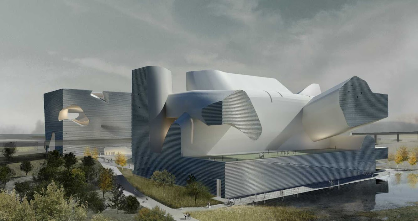 Museum: ECOLOGY MUSEUM AND PLANNING MUSEUM by STEVEN HOLL