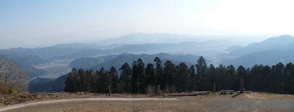 高山からのパノラマ