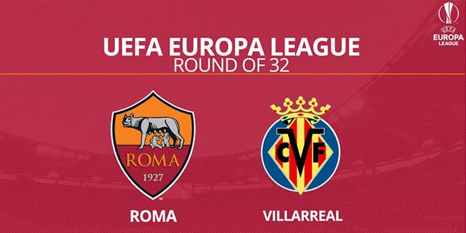 AS Roma vs. Villarreal CF | UEFA Europa League 2016/17 [image by beritaroma.com]