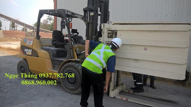 Xe nâng diesel 5 tấn CAT
