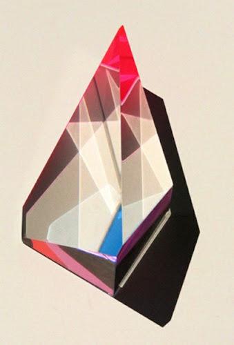 Geometric Art Stone Triangle