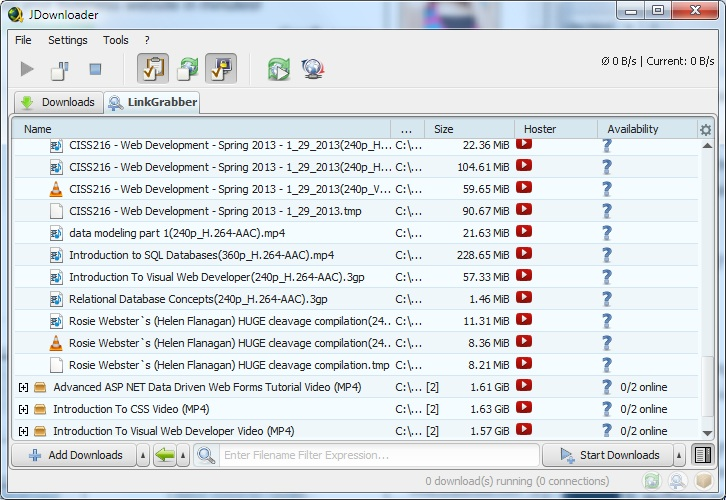 JDownloader - Free and Opensource alternative to Internet Download Manager