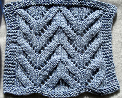 Lace Dishcloth  For the lace class.