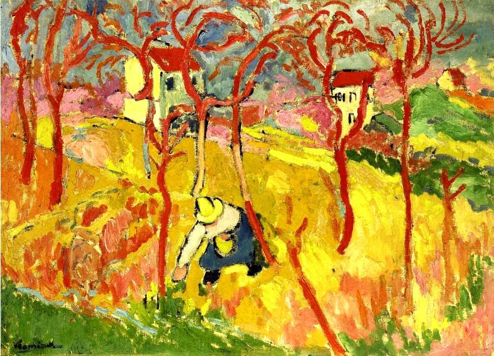 Maurice de Vlaminck - The Gardener, 1904