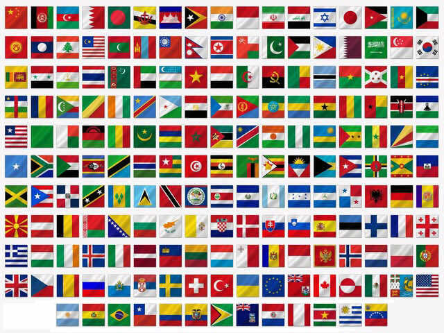 Daftar Lengkap Bendera Seluruh Dunia