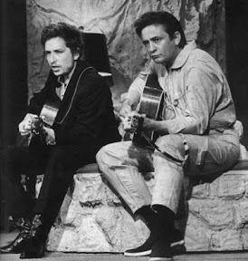 Джонни Кэш и Боб Дилан