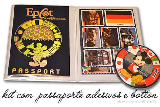 passporteepcot3 - Epcot Center - Viajando | 11 países em um unico dia
