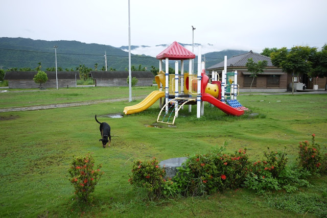 small park in Yuli, Taiwan