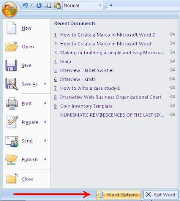 MS Word diag
