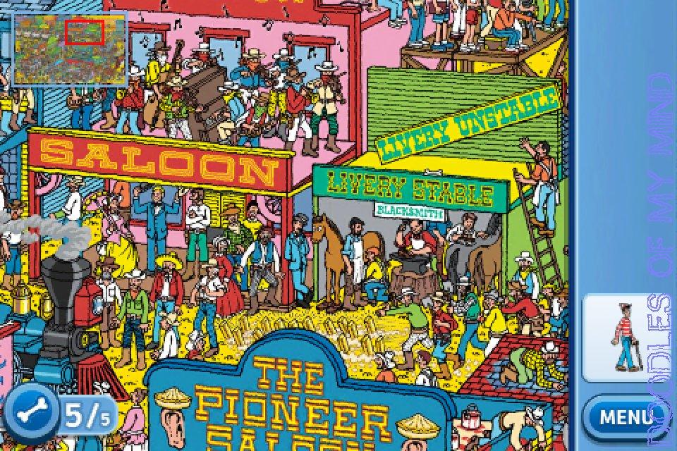 Where's Wally – the iPhone version – Liyana Aznil