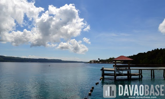 Beautiful scenery at Leticia by the Sea. Davao Reef Divers Club helped clean the underwater last February 19, 2012.