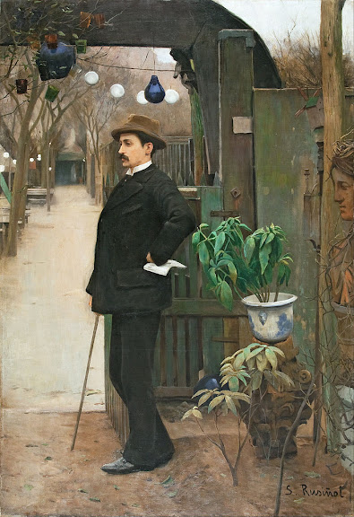 Santiago Rusiñol - Portrait of Miquel Utrillo