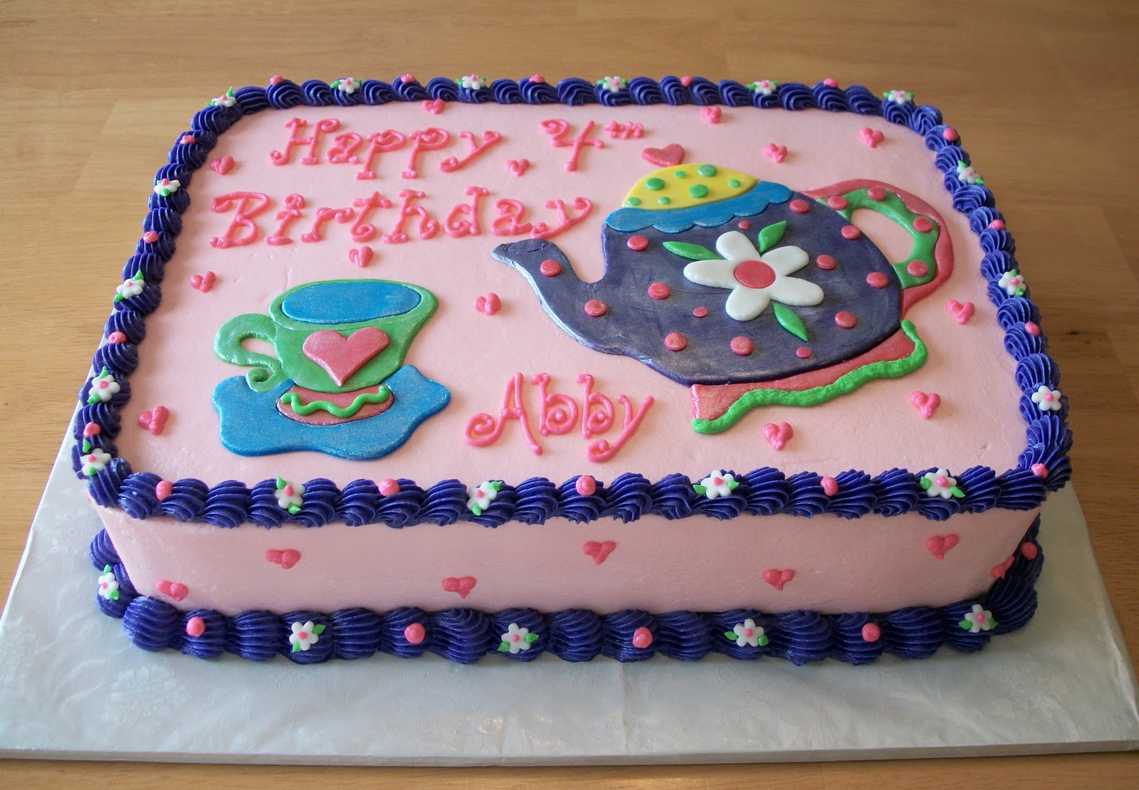 Bellissimo Specialty Cakes Tea Party Birthday Cake 311