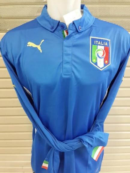 Jual Jersey Italia Home Lengan Panjang Piala Dunia 2014