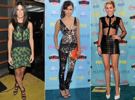 Alguns looks do Teen Choice Awards