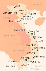 Vietnam Tourist Map