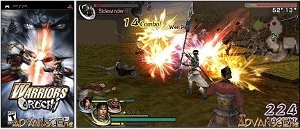 Warriors Orochi – USA PSP download
