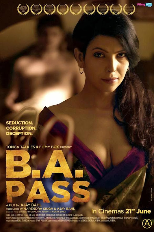 Poster Of Hindi Movie B.A. Pass (2013) Free Download Full New Hindi Movie Watch Online At Alldownloads4u.Com