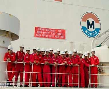 Công ty MODEC VN: Vững vàng giữa biển khơi