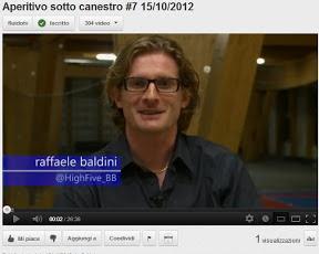 Trieste: 7a puntata di Aperitivo sotto Canestro