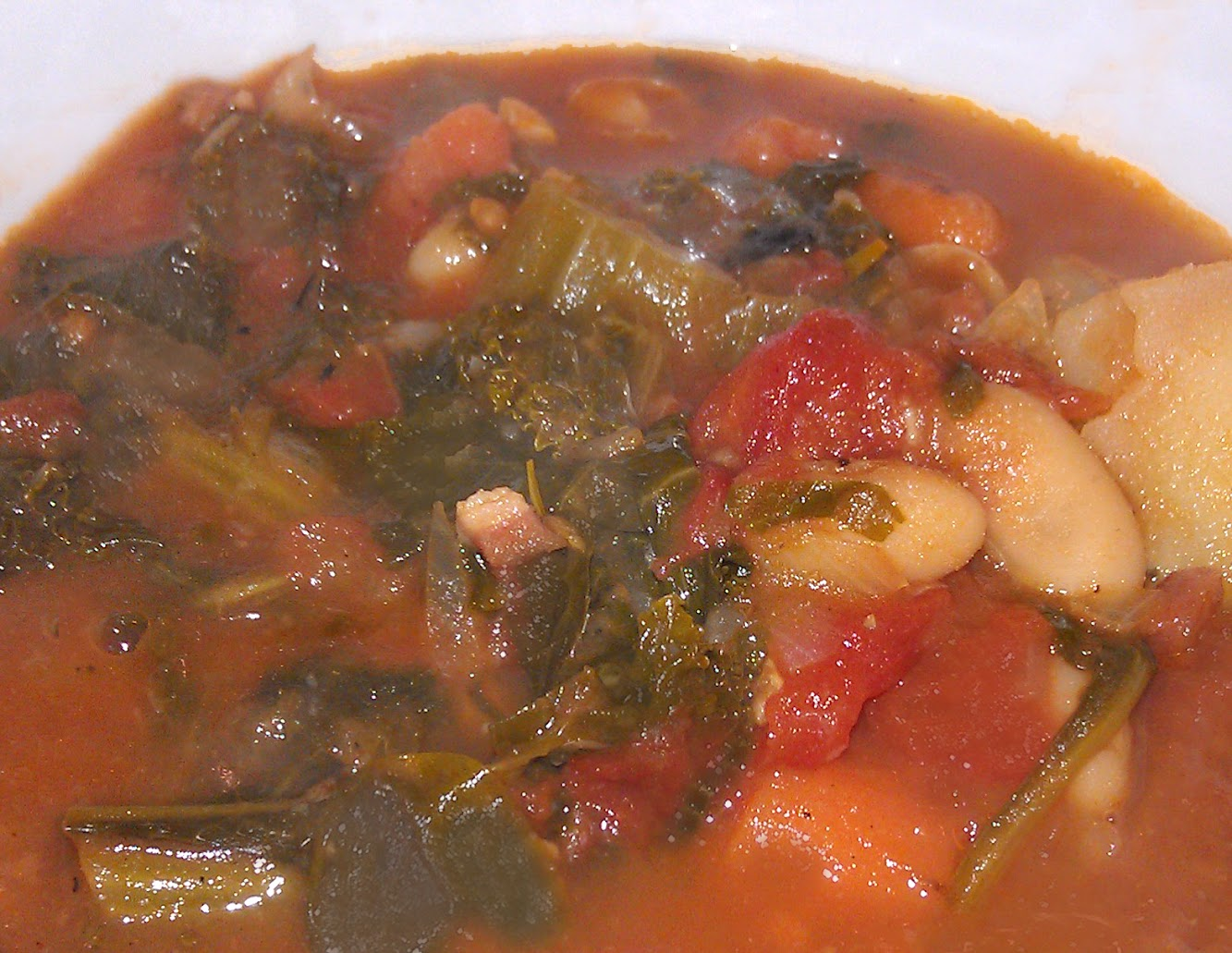 Winter Minstrone Soup