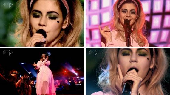 f8d43d856ec67 Sonho do dia  Que todos os artistas que a gente ama soubessem divulgar seus  trabalhos tão bem quanto a Marina Diamandis. É vídeo acústico pra cá, ...