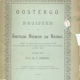 Register Geestelijke Opkomsten Oostergoo 1580/1581