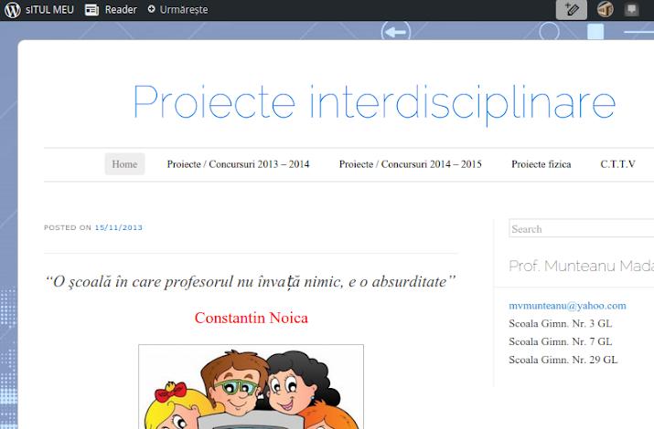 ed5 (ELECTRONIC - blog, site, aplicatie) proiecte interdisciplinare_ŞCOALA GIMNAZIALĂ_Nr. 29_Galati_GALATI