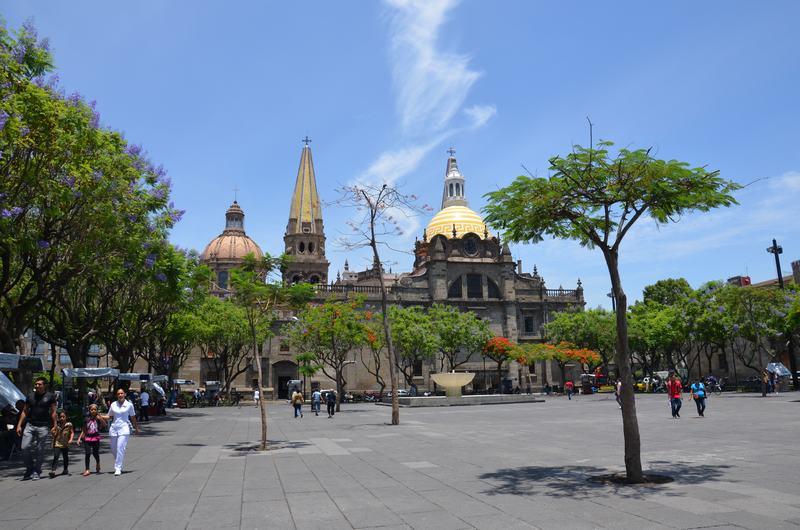 Plaza de los 3 poderes, Guadalajara