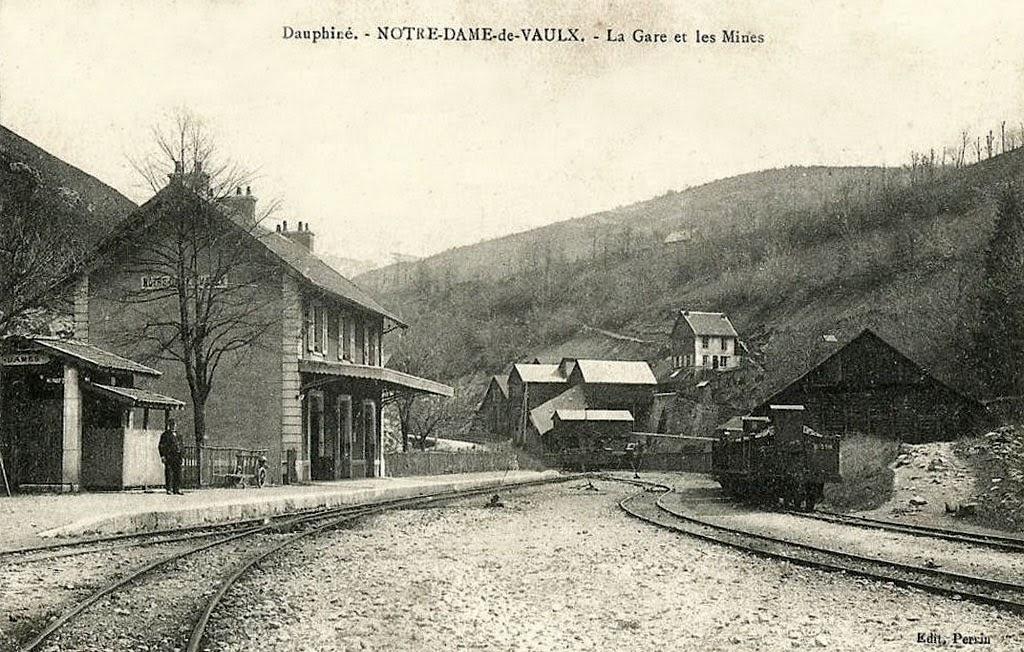 Historique des mines à Notre Dame de Vaulx