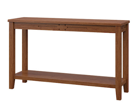 Florence Sofa Table in Itasca Maple