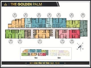 Mặt bằng Palm Garden