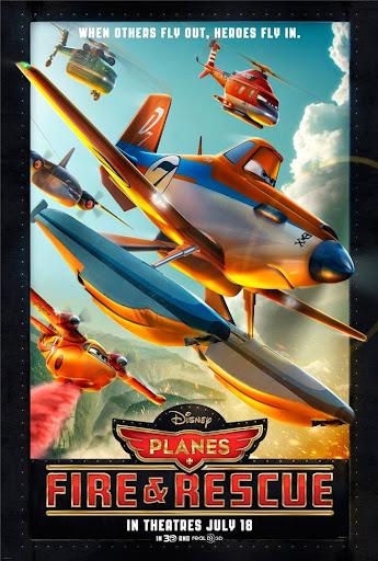 Αεροπλάνα 2: Ιπτάμενοι Πυροσβέστες (Planes: Fire and Rescue) Poster