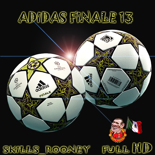 Adidas Finale 13 UEFA Champions League 2012-13 - PES 2012