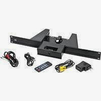 Raxxess 1U Rack Mount iPod Dock, Black