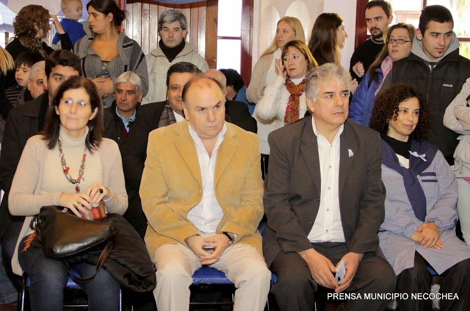 el intendente interino José Luis Vida