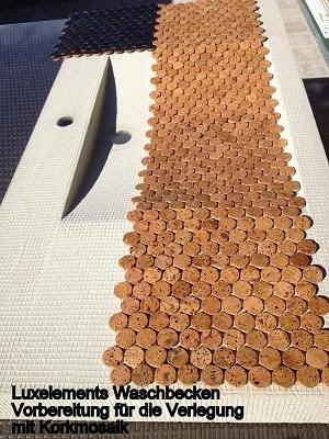 mosaik fliesen 1 5 qm sonderposten boden belag korkmosaik bad outdoor massiv ebay. Black Bedroom Furniture Sets. Home Design Ideas