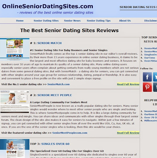 Best online dating for over 60