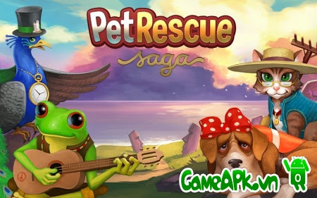 Pet Rescue Saga v1.28.3 hack full cho Android