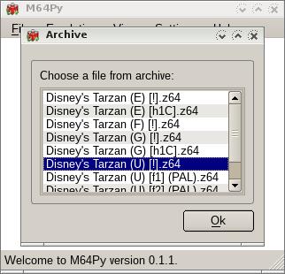 M64Py - Python frontend for Mupen64Plus [Archive] - EmuTalk net