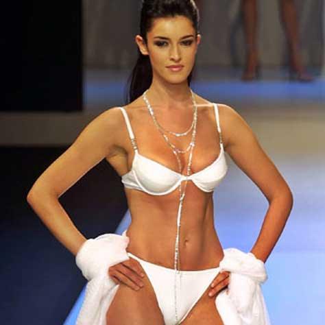 Blanca Romero, en ropa interior