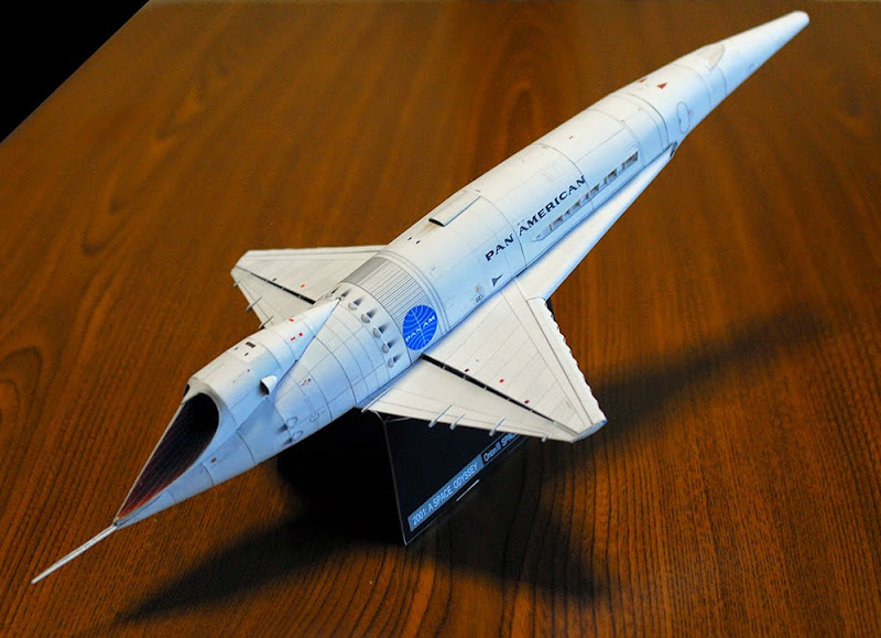 Orion III Spaceplane Papercraft