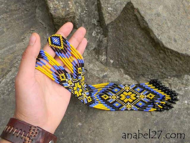 купить заказать гердан гайтан этнические украшения тиз бисера  Anabel