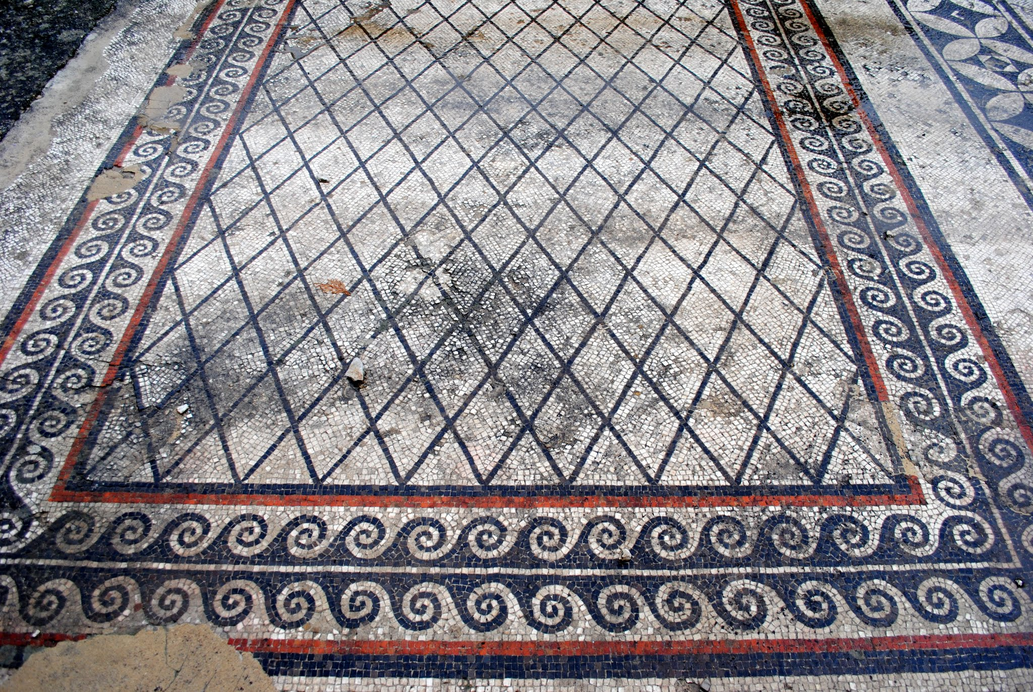 My Photos: Mosaics -- France -- Vaison la Romaine
