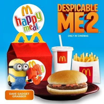 promos, McDonald's Happy Meal, toys, freebie alert